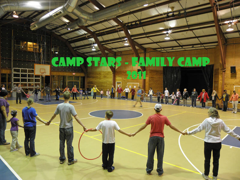 Camp STARS Family Camp 2011 group