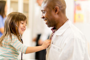 Celebrate Child Health Day by having a check-up at the family doctor.