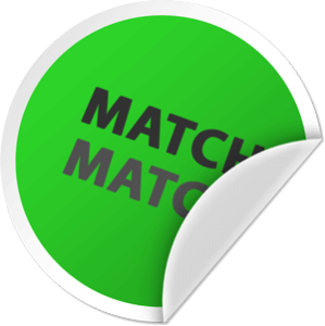 circle with match text